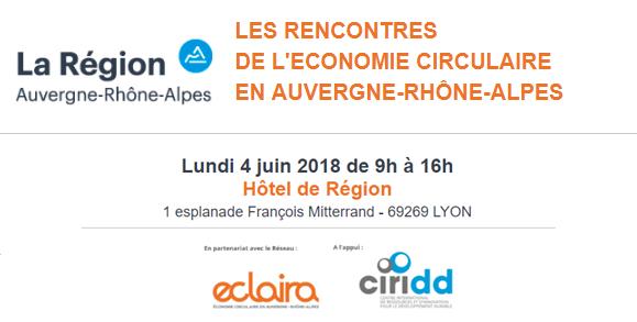 """Résultat de recherche d'images pour """"rencontres de l'économie circulaire juin 2018"""""""